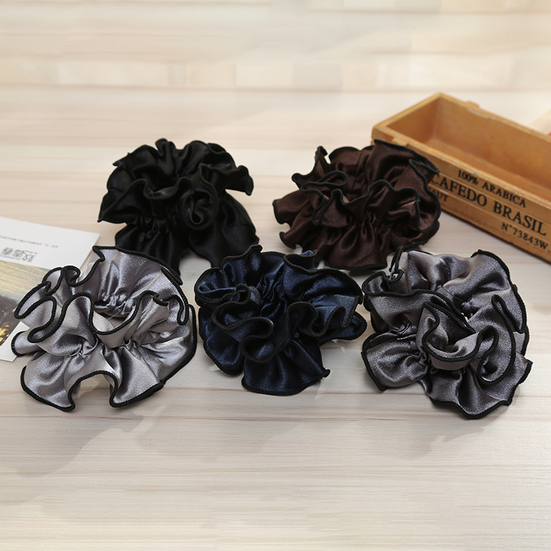 New Arrival Fashion Women Lovely Big Hair Bands Elegant Hair Scrunchies Girl's Pretty Hair Tie  Accessories Ponytail Holder