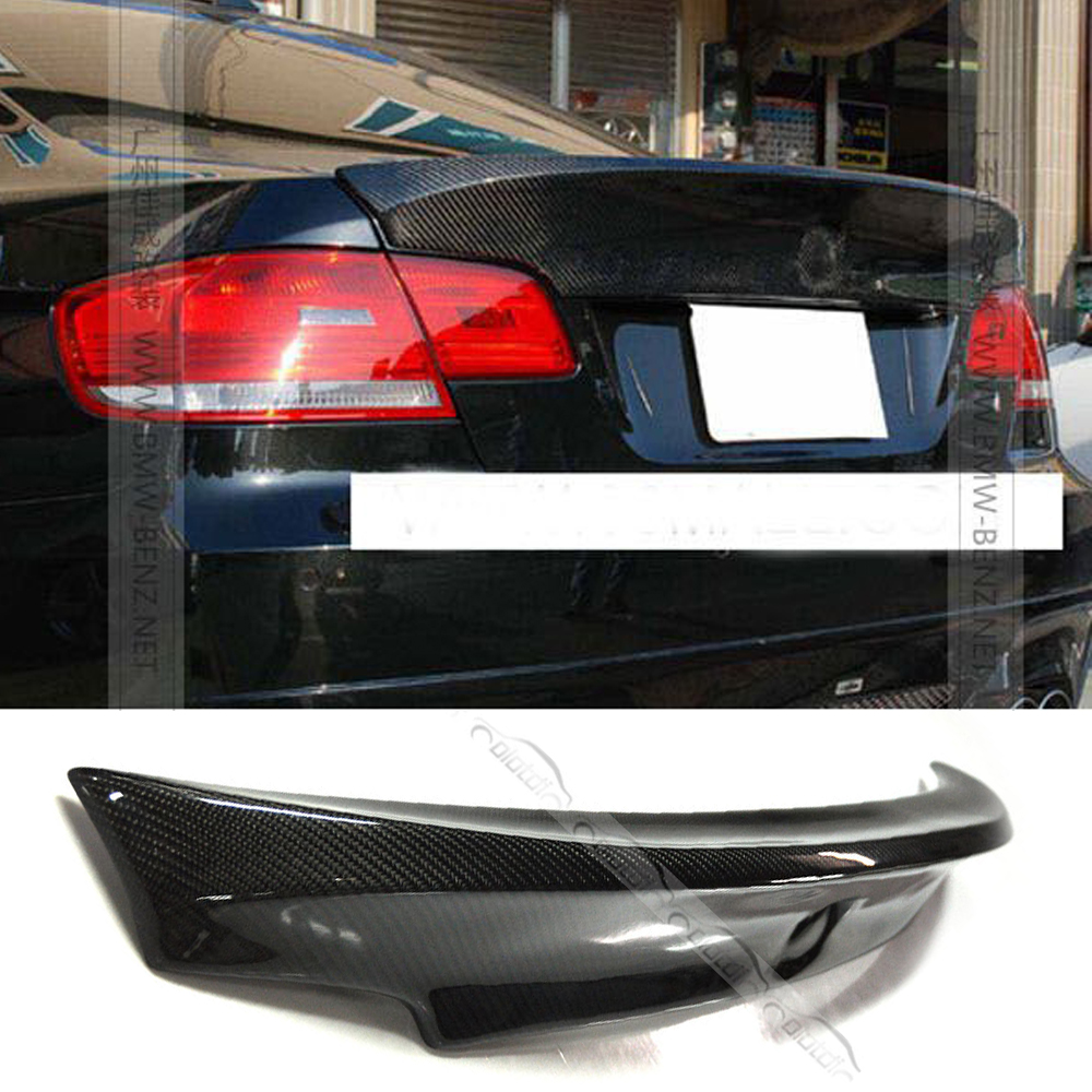 E92 CSL Style Carbon Fiber Rear Wing Trunk Boot Spoiler For BMW E92 M3 2007~2013 car styling accessories factory