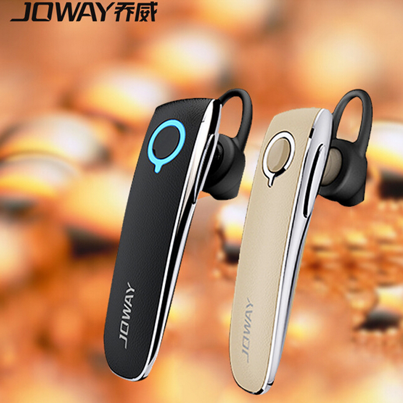 Original Joway H05 Wireless Stereo Bluetooth Headset Business Driver Style Leather Earphone Headphones With MIC for iPhone bh790 stereo v4 1 bluetooth wireless headphones car driver handsfree with mic earphone business headset for iphone android sp029