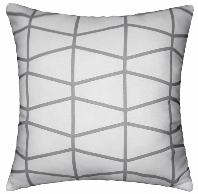 capa de almofada abstract cushions grey geometric cushion cover