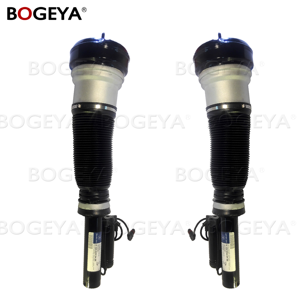 Pair Original Genuine Mercede W220 S class Front Shock Absorber Air Suspension Strut Air Spring 2203202438 2203308907 2203302407