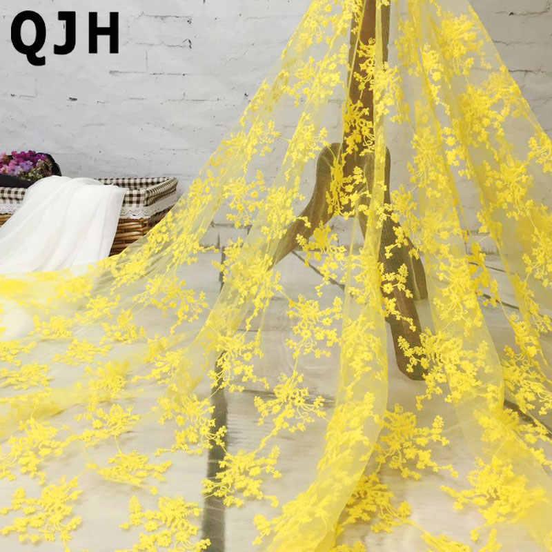 Yeni Varış Fransız Dantel Kumaş Çiçek Ağ Nakış Afrika Tül Mavi Siyah Beyaz Dantel Kumaş Moda Nijeryalı dantel Kumaş