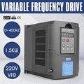 220В 1.5KW VFD 3HP 10A драйвер переменной частоты VFD инвертор для шпинделя двигателя