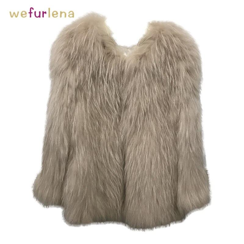 De Femmes 2018 Chaud Fourrure Lady Réel Femelle Manteau Long Nouvelle Naturel Veste Manches Mode Raton Survêtement Moelleux Laveur Longues qnSEa8w5za
