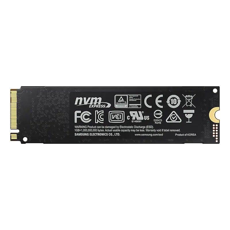 Samsung 970 EVO PLUS M.2 SSD 250 GB 500 GB 1 TB nvme pcie Interne disque SSD HDD Disque Dur pouces ordinateur portable De Bureau MLC PC Disque - 5