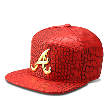 Red Black snapback hat 5c64fe6f2bfe6