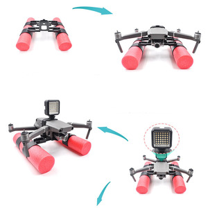 Image 4 - Floating Bobber Landing Gear Combo Set Kit for DJI MAVIC 2 Pro/Zoom Drone Extended Landing Gear Skid Training w/ Floating Bobber