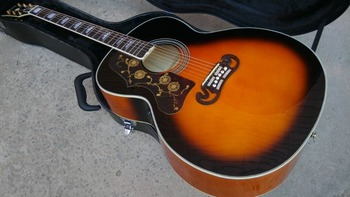 left hand Acoustic Guitar Vintage Sunburst Acoustic Electric Guitar Factory customization