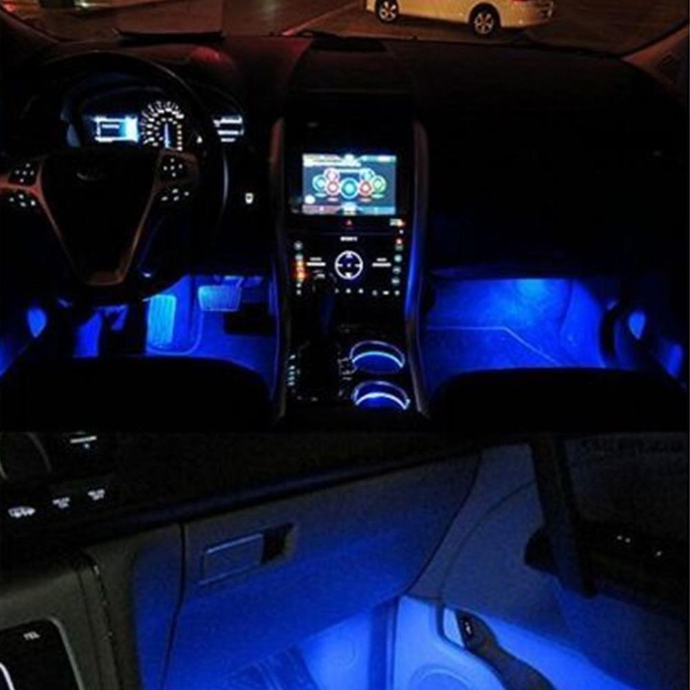 buy 4x 3led interior car decorative light. Black Bedroom Furniture Sets. Home Design Ideas