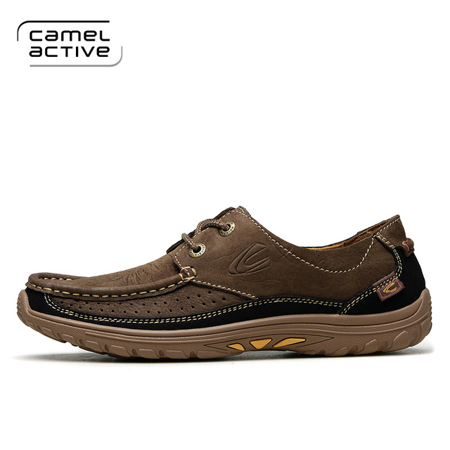 Camel Active 2017 New Arrival men's casual shoes men genuine leather shoes  men's fashion shoes many