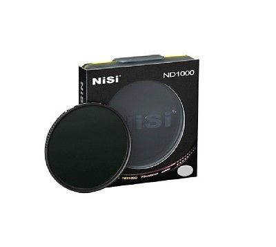 ФОТО C524014 NISI ND1000 52mm ultra-thin Neutral Density Gray filter,10 dimmer decreas light