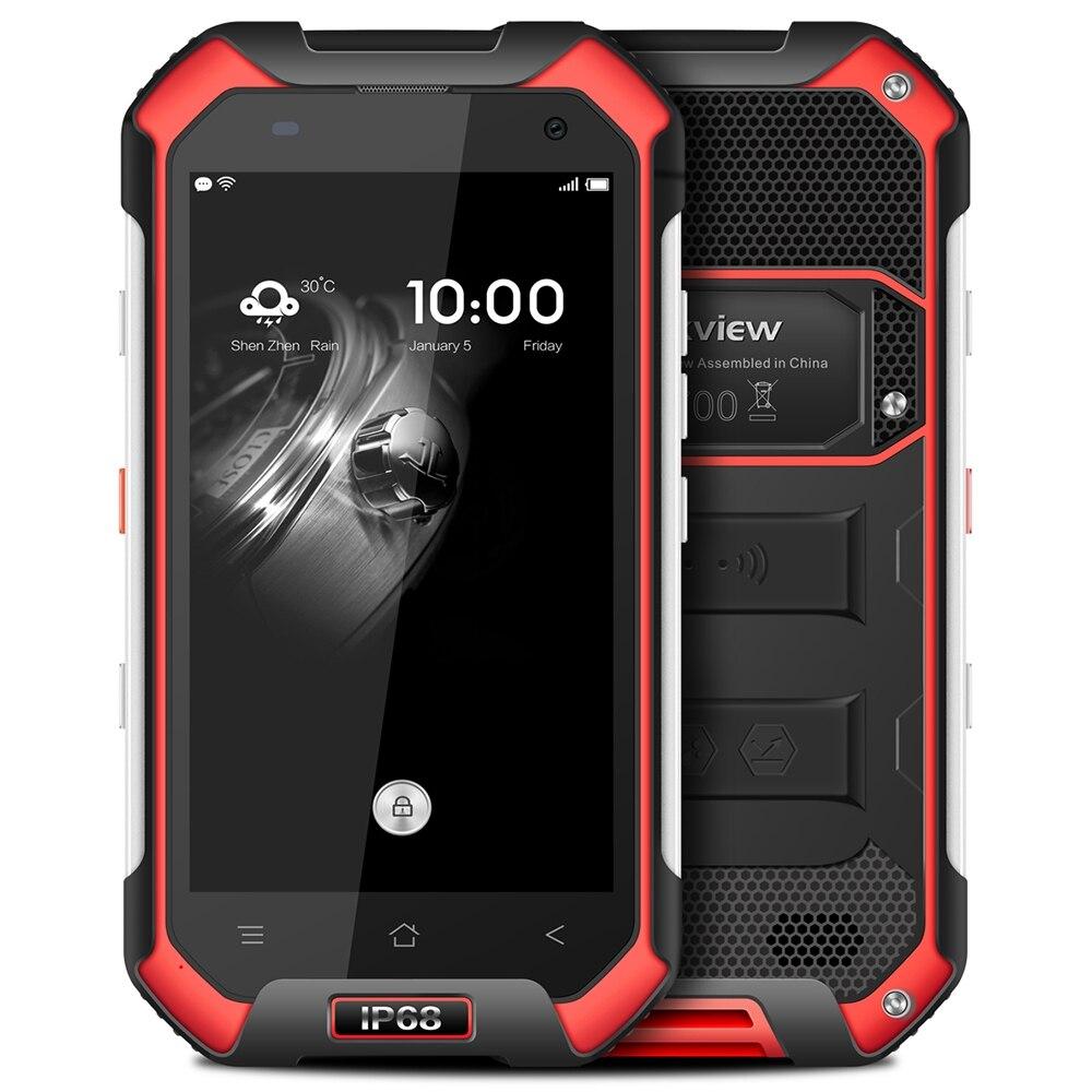 bilder für Blackview BV6000 4,7 zoll 4G IP68 Wasserdicht Staubdicht Smartphone Android 7.0 MTK6755 Octa-core 2,0 GHz 3 GB + 32 GB 5MP + 13MP Handys