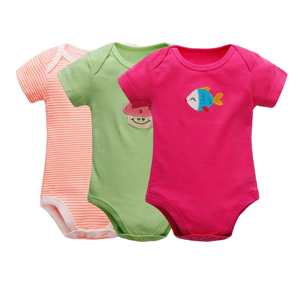 3 kusy / kus Dětské oblečení Dívka a chlapec s krátkým - Oblečení pro miminka