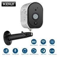 KERUI Outdoor 1080p Full HD Battery 2 4G WiFi Wireless IP66 Waterproof IP Camera Indoor Home
