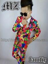 Отличный эксклюзивный Для мужчин одежда Для мужчин индивидуальность тенденция Пиджаки Для мужчин Мода красочные Цвета Костюмы сценические костюмы S-5XL