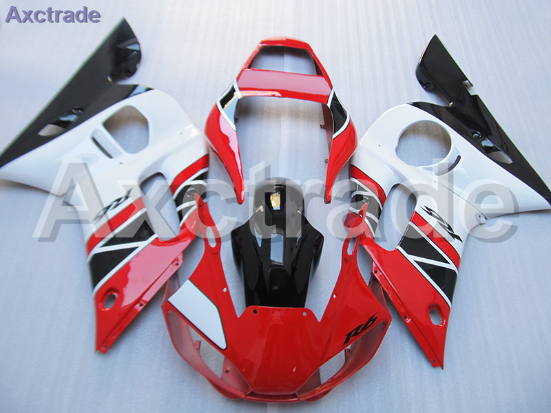 Moto Motorcycle Fairing Kit For Yamaha YZF600 YZF 600 R6 YZF-R6 1998-2002 98 - 02 ABS Plastic Fairings fairing-kit Red Black