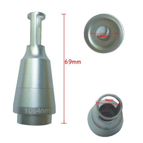 1064nm 532nm dicas cabeca lente do laser