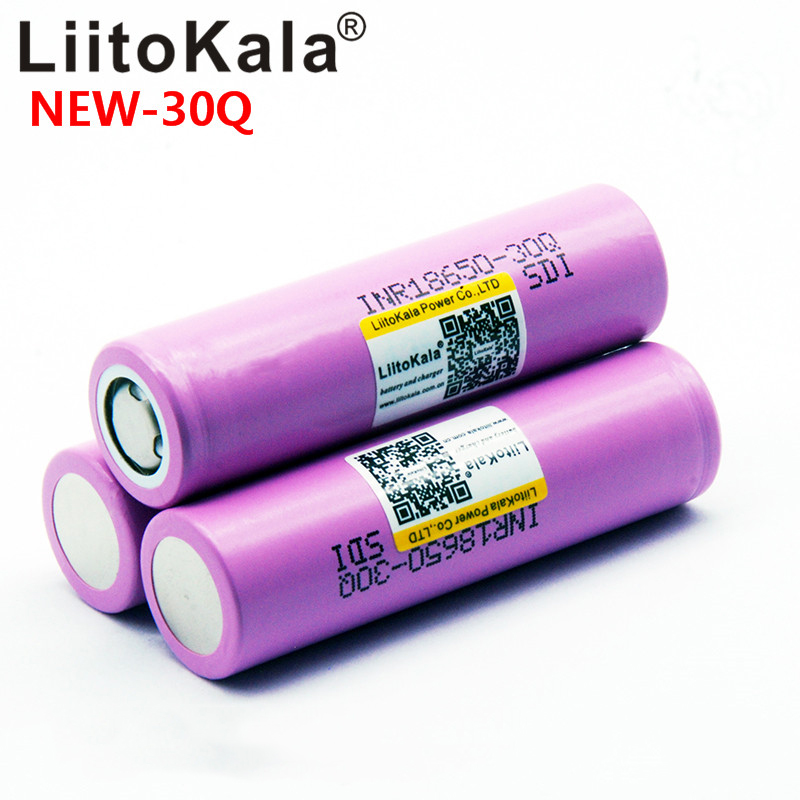 Image 5 - 100% LiitoKala 30Q brand 18650 3000mAh lithium battery INR18650 30Q powered rechargeable battery-in Rechargeable Batteries from Consumer Electronics