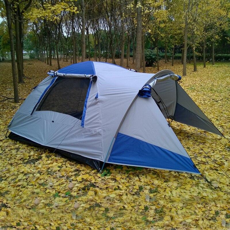 Étanche Double Couche 2 personne Camping En Plein Air Tente Randonnée Tente De Plage Touristique chambre voyage 2018 chine barraca tenda