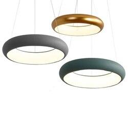 Eusolis Nordic Lamparas Led Oświetlenie Współczesne Hanglamp Oświetlenie Art Luminarias De Wnętrze Nowoczesne Lampy Wiszące Projekt w Wiszące lampki od Lampy i oświetlenie na