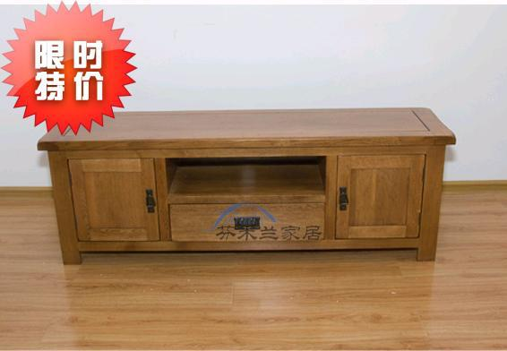 Fen Milan Antique Series Tv Cabinet Export Grade Oak Wood Imported From Europe 2