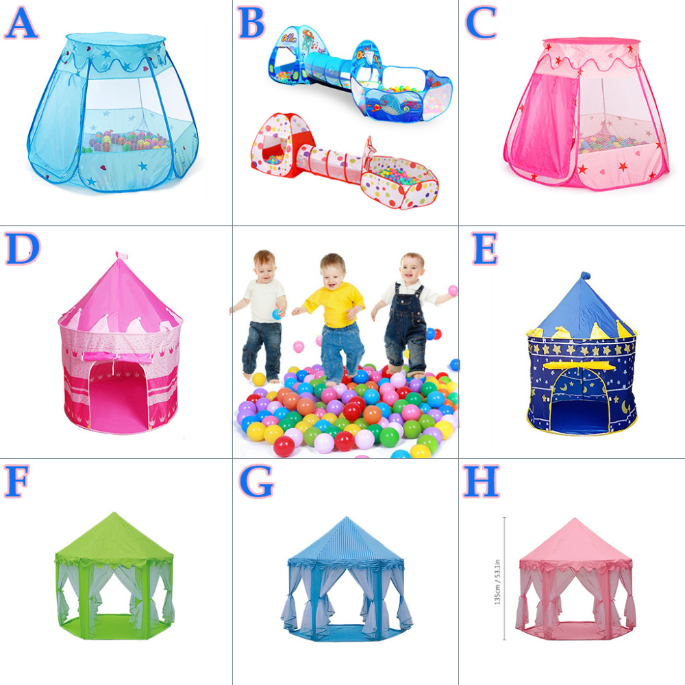 Toy Tents For Kids Children Tipi Ocean Pool Ball Baby Tent House Crawling Tunnel Basketball Ring Toys Tents Babysister