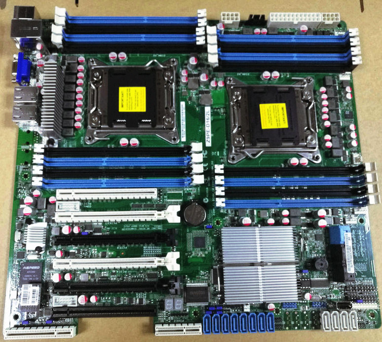 Z9PE-D16/2L Motherboard LGA 2011 C602 DDR3 Fit 2680 V2 CPU