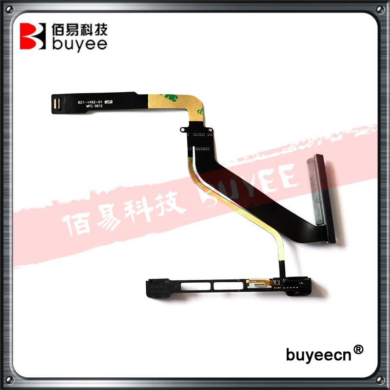 A1286 923-0084 821-1492-A 821-1492-01 Hard Drive Flex Cable With Bracket 2012 For MacBook Pro 15 A1286 1492 HDD Cables Holder brand new hdd hard drive disk cable with bracket 821 0812 a for macbook pro a1286 15 4