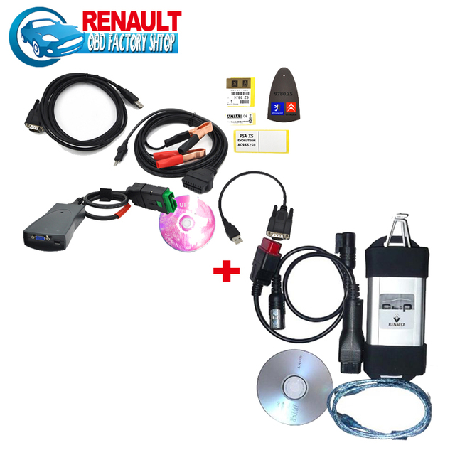 Promotion DHL free 2016 lexia 3 V48 pp2000V25 diagbox V7.65 with Renault can clip V155 diagnostic tool with lowest price