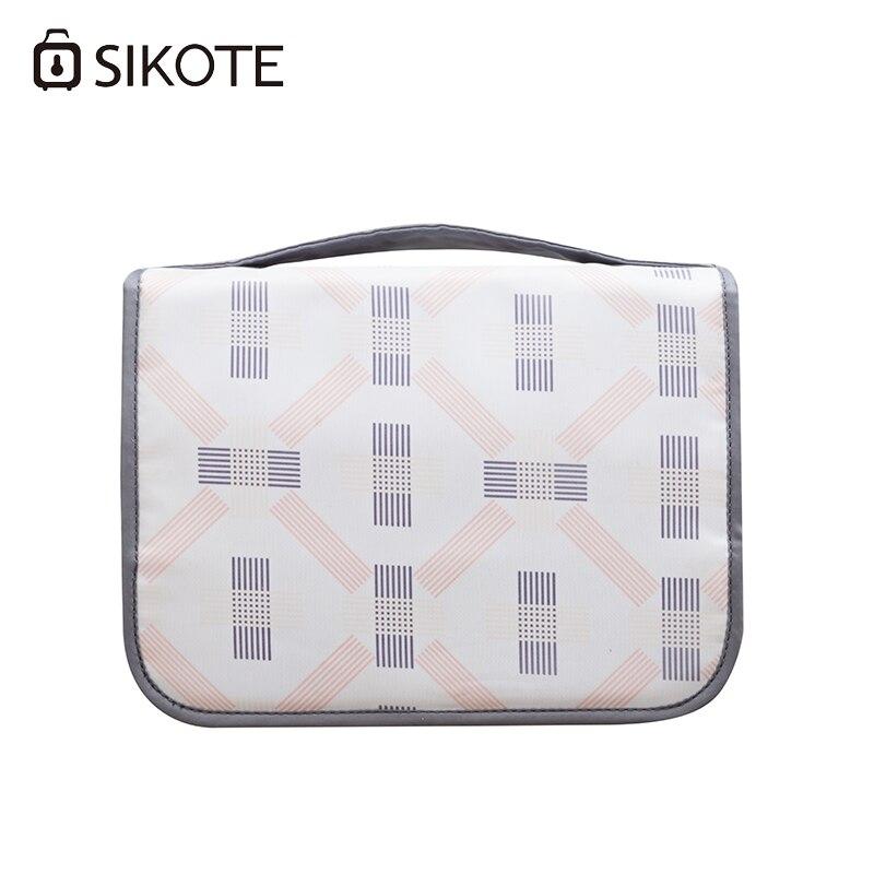 Sikote двойной Слои Туристические товары Водонепроницаемый Упаковка Организаторы мешок хранения Портативный одежда отделка Сумки