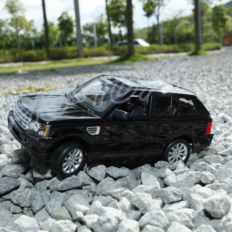 New Year Gift RR 1/18 Large Model Car Metal Vehicle SUV Car Front Decoration Alloy Luxury Present Men Collection Die-cast Toys