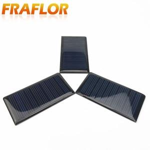 Image 3 - 10 قطعة/الوحدة الجملة 5 V 60mA الايبوكسي لوحة طاقة شمسية البسيطة الخلايا الشمسية الكريستالات السليكون الشمسية DIY الشمسية وحدة شحن مجاني