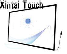 Cubierta de pantalla táctil de 58 pulgadas LCD TV IR, kit de panel de pantalla táctil IR industrial de 10 puntos para monitor, marco de infrarrojos para pantalla táctil