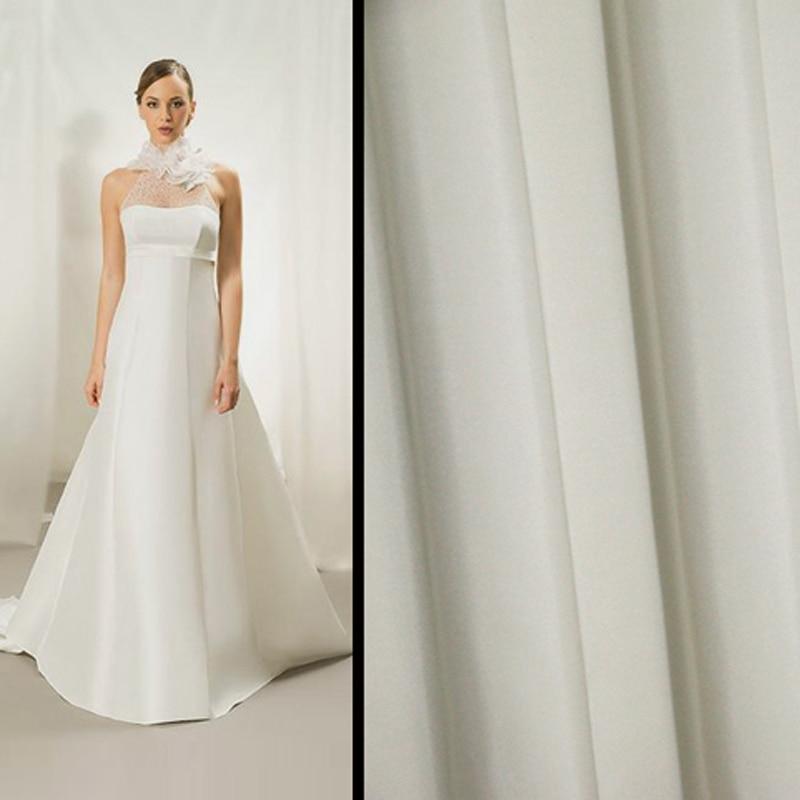 Silk Taffeta Wedding Gowns: 50cm*114cm Wedding Dress Gowns Silk Taffeta Cloth Material