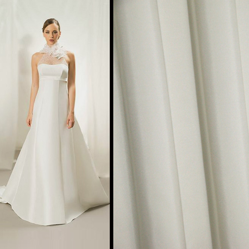Silk Taffeta Wedding Gowns: Wedding Dress Gowns Silk Taffeta Cloth Material Natural