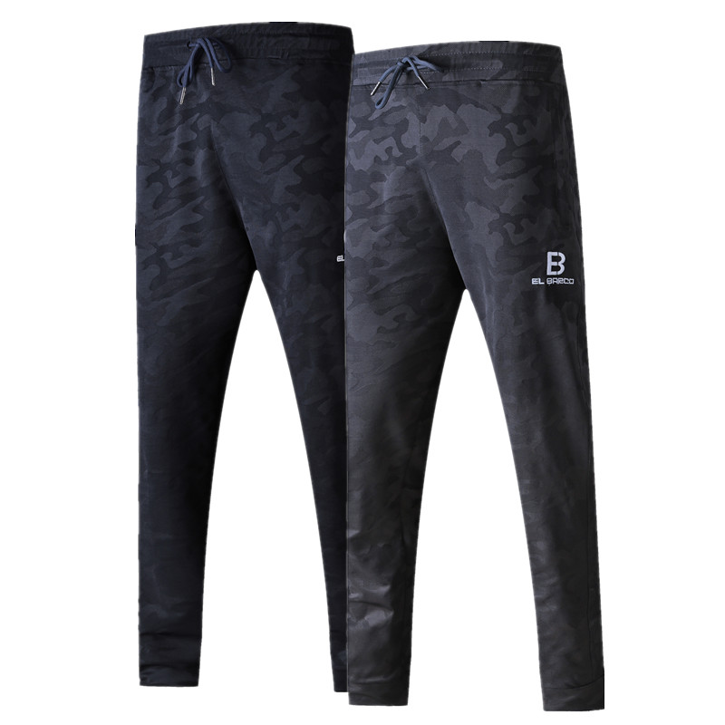 El Barco Camouflage Cotton Men Pants Casual Military Grey Male Sweatpants Soft Breathable Navy Blue Joggers Trousers Pantalon With The Best Service