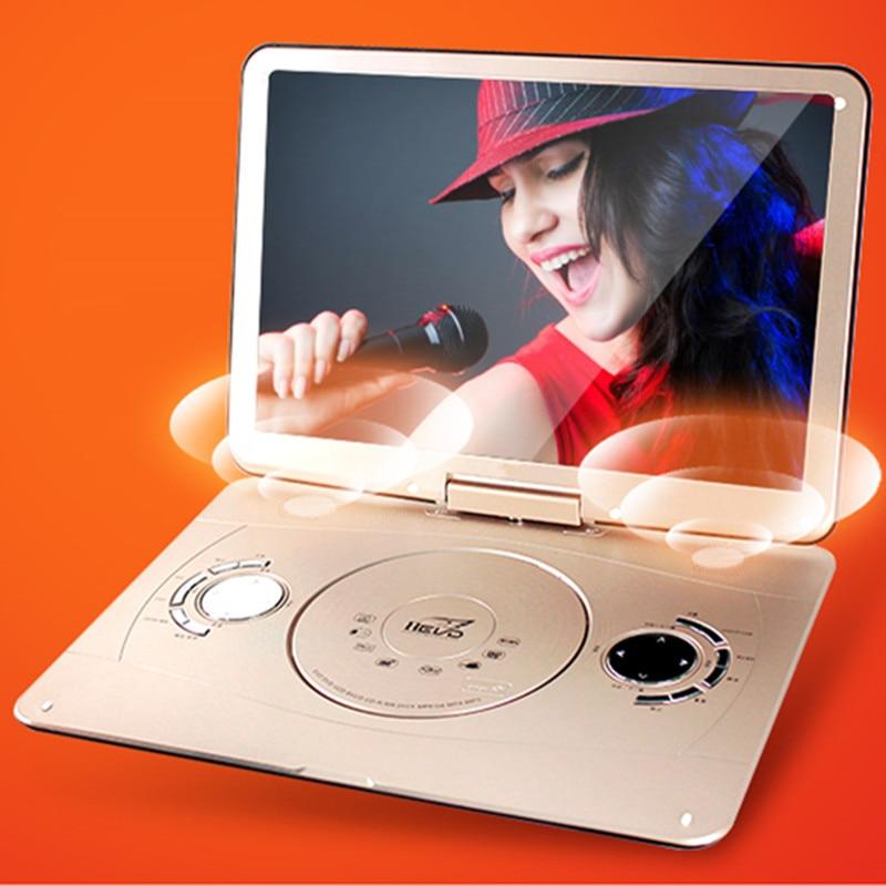 Portativ DVD 18.8 INCH 3d mobil dvd evd portativ EVD pleyer hd VCD - Evdə audio və video - Fotoqrafiya 4