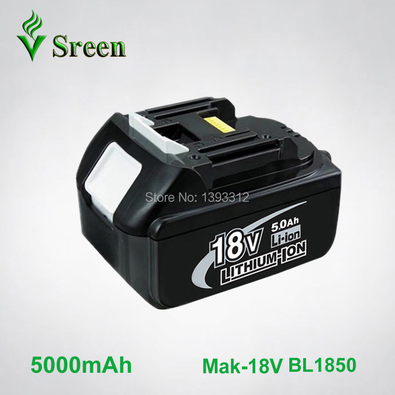 все цены на New 5000mAh Emergency Rechargeable Lithium Ion Power Tool Battery Replacement for Makita 18V BL1830 BL1840 BL1850 BL1815 LXT400 онлайн