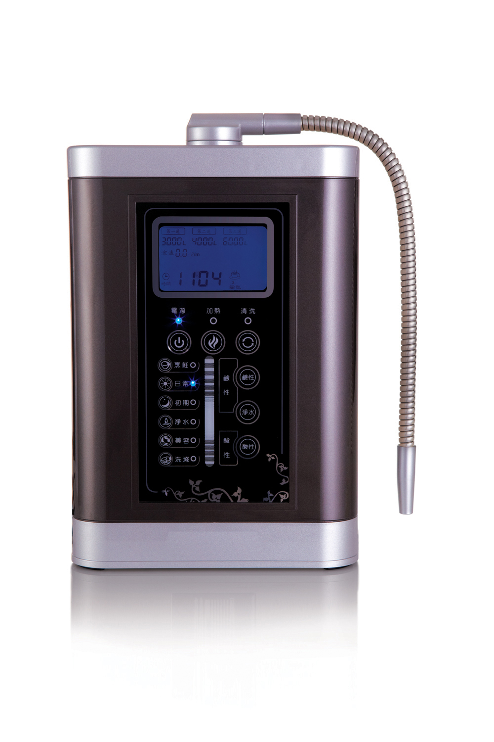 alkaline water ionizer machine multifunctional water ionizer JM-919B regulate body pH balance water ionizer alkaline water ionizer for wholesale and retail one unit with 3 stage pre filters