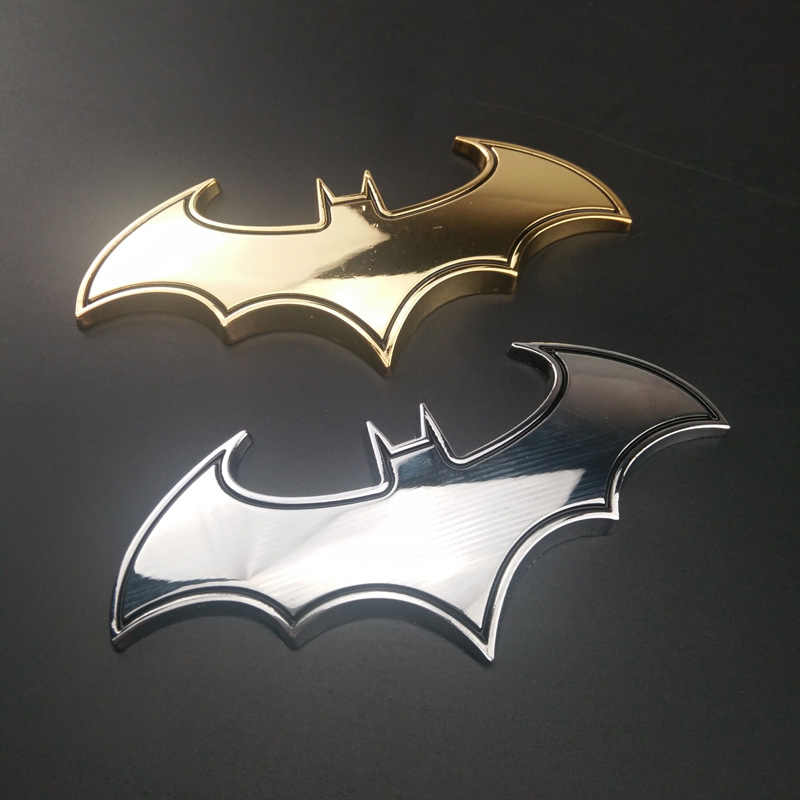 3D Metalen Auto Batman Badge Motorfiets Sticker VOOR Land Rover Range Rover/Evoque/Freelander/Discovery