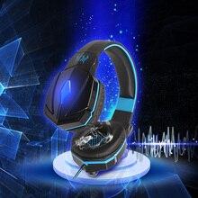 KOTION CHAQUE G4000 D'origine Filaire Stéréo Gaming Headset Avec Micro Cool En Cuir Rembourré Sweatproof Éblouissement LED Casque Pour PC Jeux