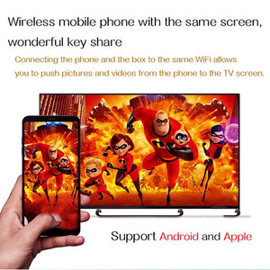 Image 5 - Q box Artı Dört Çekirdekli 4 GB + 32 GB Android 9.0 TV 4 K HD akıllı medya oynatıcısı WI FI HDMI sıcak Satış Yüksek kalite