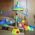 Lullababy бабочка Электрическая Музыка Кровать Колокол Детская Кроватка Музыкальный Мобильный