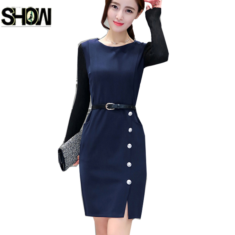 3 Colors Formal Dresses New 2017 Hot Sale Korean Style ...