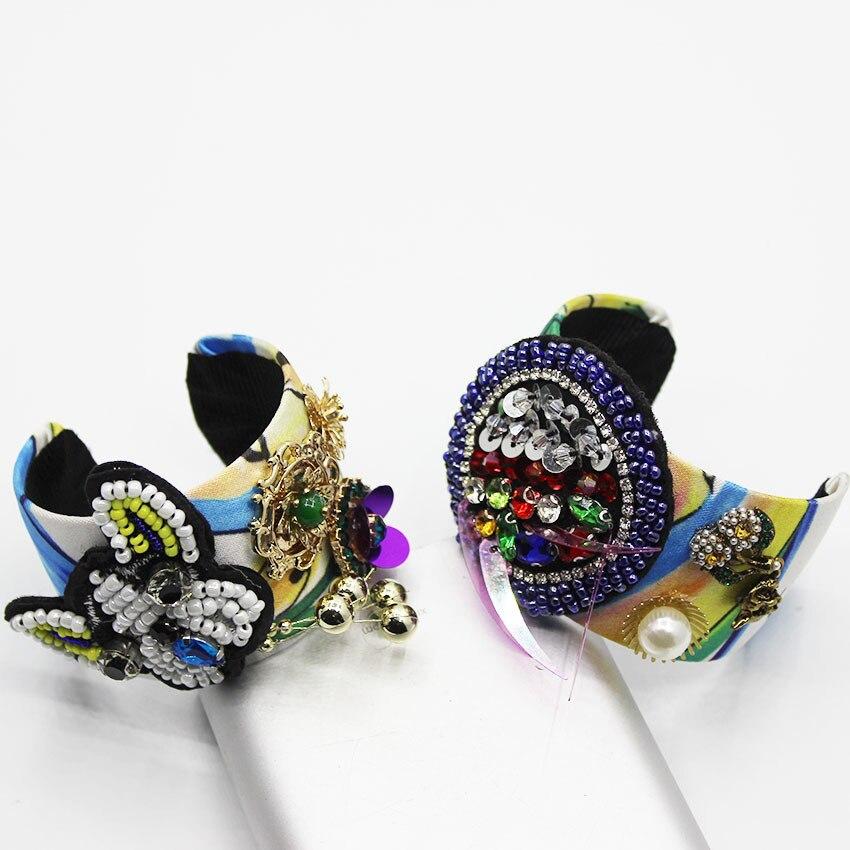 Luxury Jewelry Designers Baroque Bracelet Bangle Pearl Crystal Lightning Charm Accessories Women Europe 2019