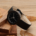 BOBO BIRD I30 Women's Wooden Watch Classic Black Dial Stainless Steel Back Case Leather Quartz Ladies Wristwatch bayan kol saati