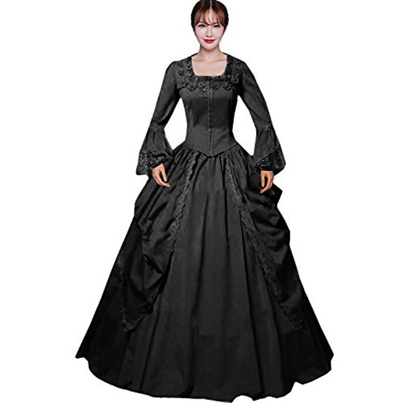 Top Sale  Vertical Gothic  Victorian Dress Reenactment Costume