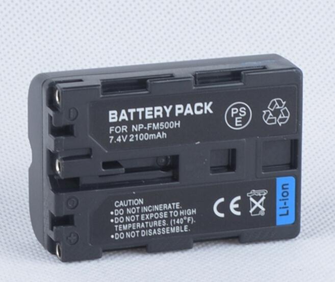 NP FM500H Battery for Sony Alpha SLT A57 SLT A57K SLT A65 SLT A65V SLT A77