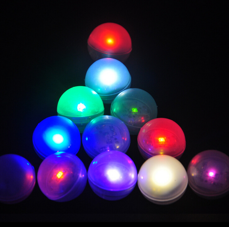 200pcs led lights ball in bongs underwater submersible waterproof electronic sub tea lights christmas wedding party floating in party diy decorations from - Christmas Light Ball