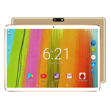 10 inch Tablet pc Android 7.0 Octa Core 4GB RAM 64GB ROM dual sim WiFi FM 1280*800 IPS Phone Call 3G GPS Tablets+gifts